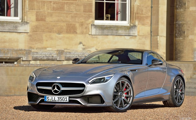 AUTO BILD: Neuer Sportwagen: Mercedes GT kommt 2016