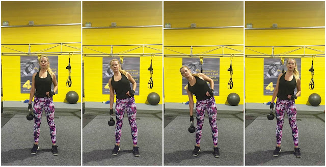 oblique exercise, kettlebell exercise, fitness blog, fitness blogger, ab training, oblique training, killer abs, ab exercise, standing kettlebell abs, obliques, side abs,