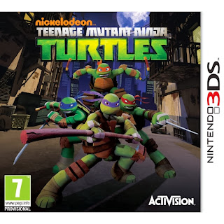 Teenage Mutant Ninja Turtles (3DS USA)