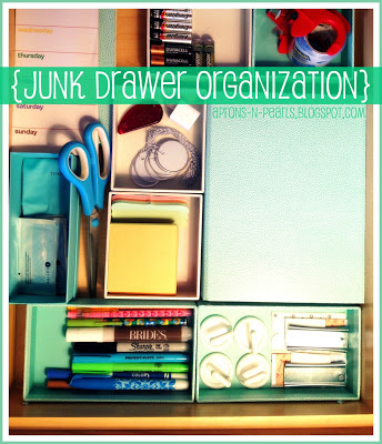 junk+drawer+organization Pinterest Power Party {9}