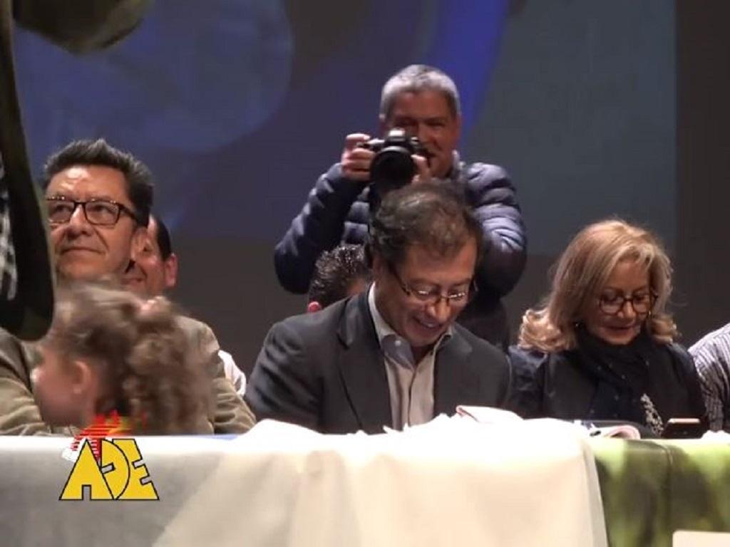 La ADE ratifica su apoyo a la Colombia Humana