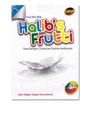 Susu tepung penuh krim dicampur Gam Arab(manna), Bijirin, Malt, Madu