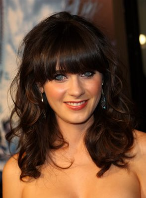 fashion zooey deschanel hair