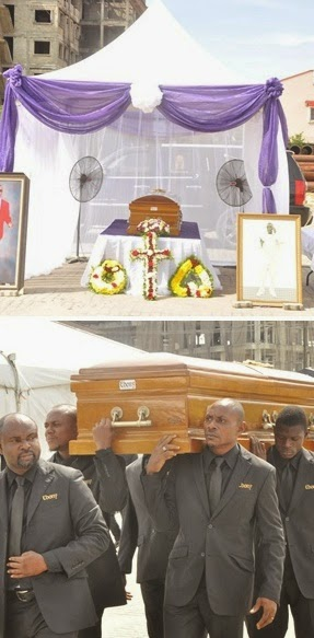 Photos from Akeem Sodeinde's burial...Rest In peace Akeem!