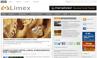 Limex Blogger Template