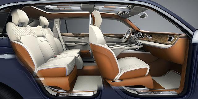 Bentley EXP 9 F SUV side