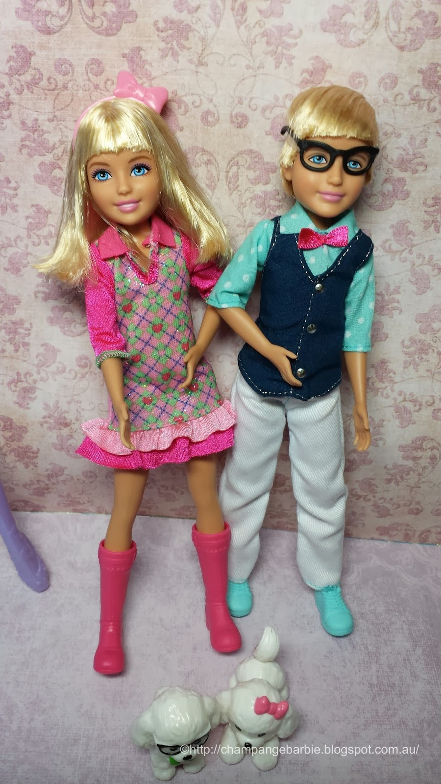 along the way i also purchased barbies cousin max and marie from the barbie and her sisters a pony tale line - Barbie Marie