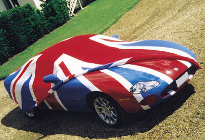Union Jack Sports Car