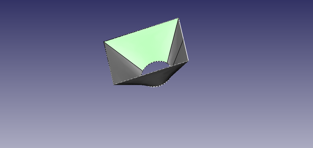 Loft Tool In Freecad Is Similar To Solidworks