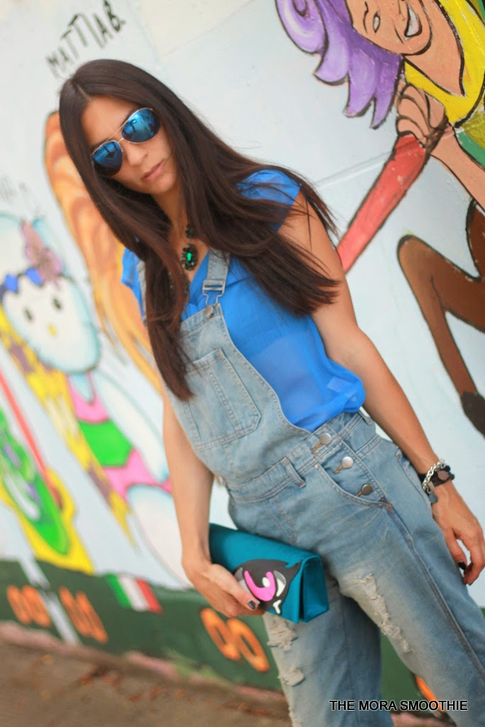 themorasmoothie, outfit, look, bag, diy bag, shopping, lazzari, primark, salopette, ray-ban, seventy, necklace, necklace seventy, lazzari shoes, fashion, fashionblog, fashionblogger, fblog, fblogger, chanel, pierre hardy, street style