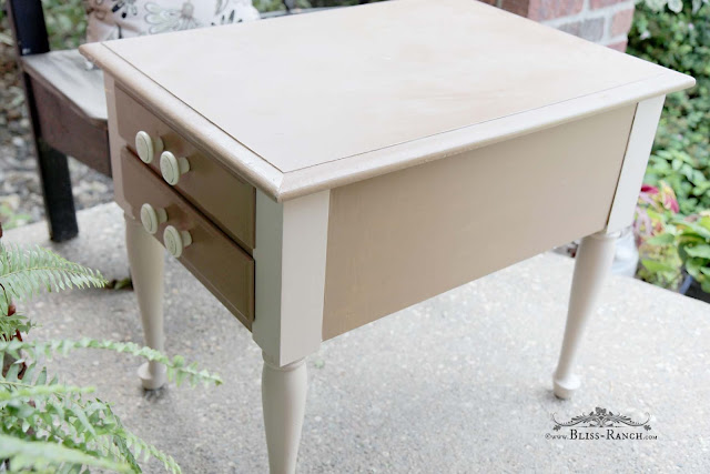 Trash To Treasure Nightstand, Bliss-Ranch.com