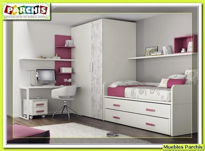 Cama mesa abatible camas autoportantes ideas - Habitaciones para tres ...