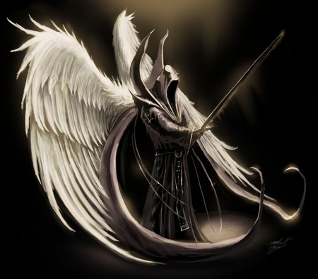 Wallpaper 4 You Anime Dark Angel Wings
