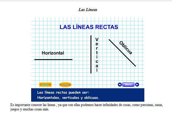 APRENDER ES DIVERTIDO 1º Y 2º: Líneas rectas y curvas.