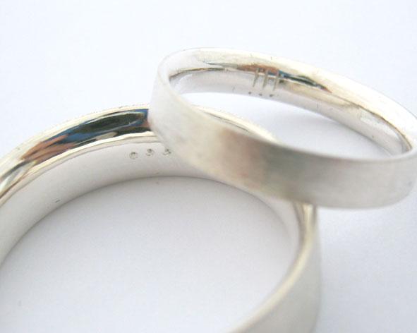 Materialise Creativity KISS Wedding Bands