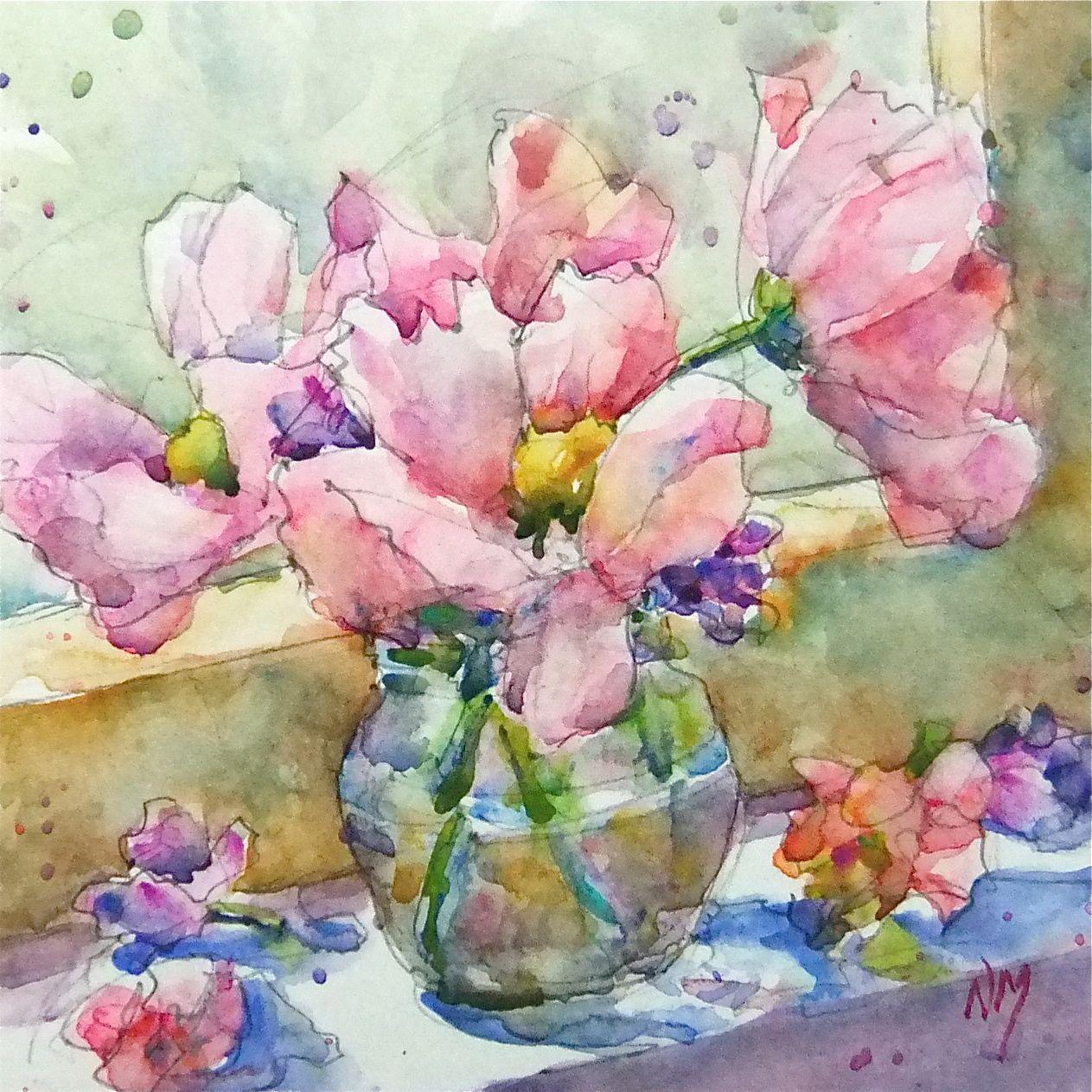 Watercolor Flower Painting: Artist: December 2012