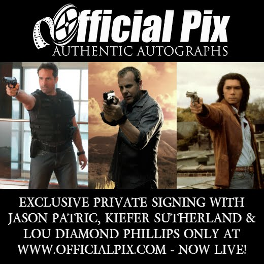Private Signings with Jason Patric, Kiefer Sutherland & Lou Diamond Phillips! Deadline Aug. 13!