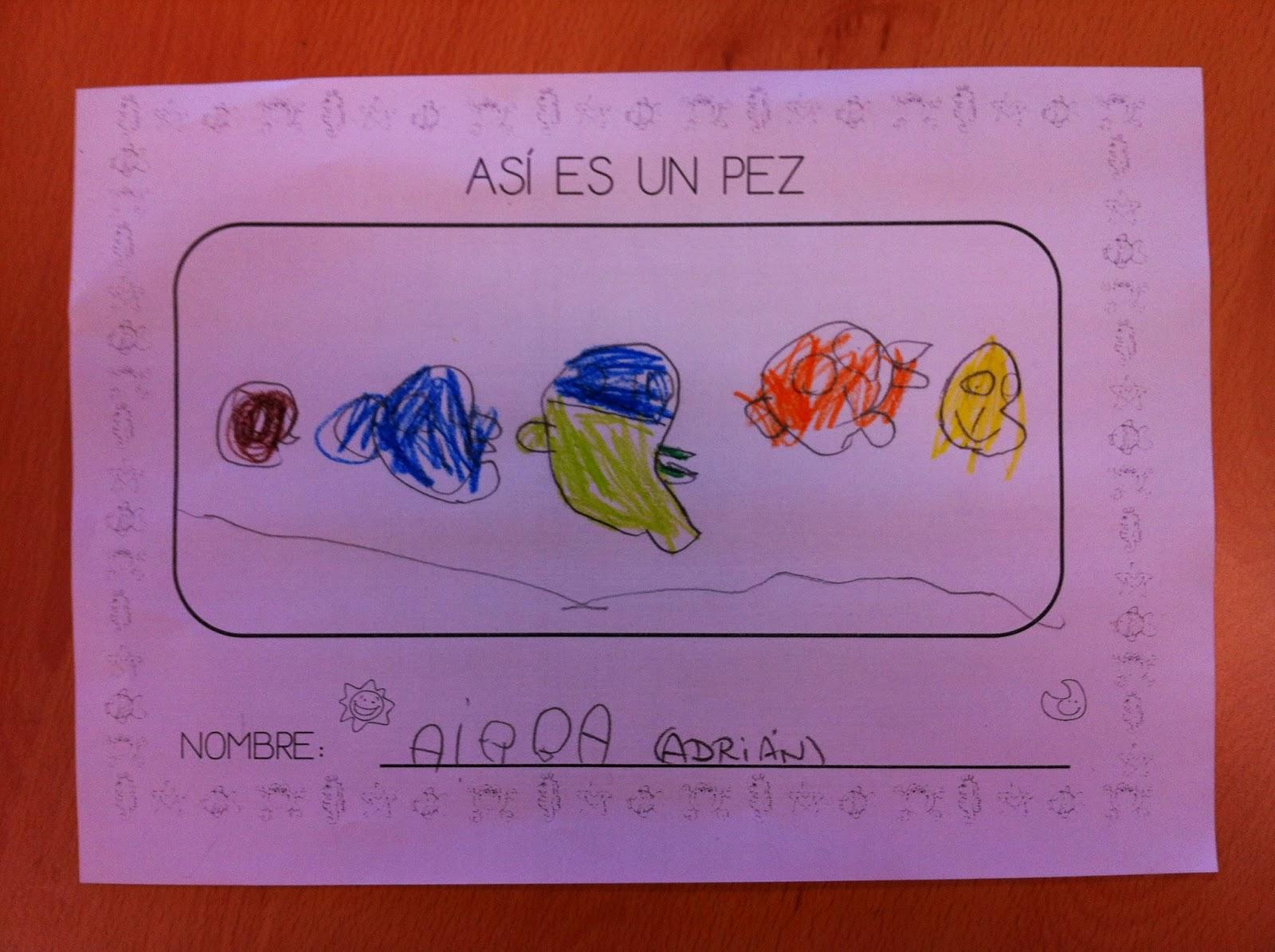 Aprendiendo juntos proyecto los peces for Actividades para jardin