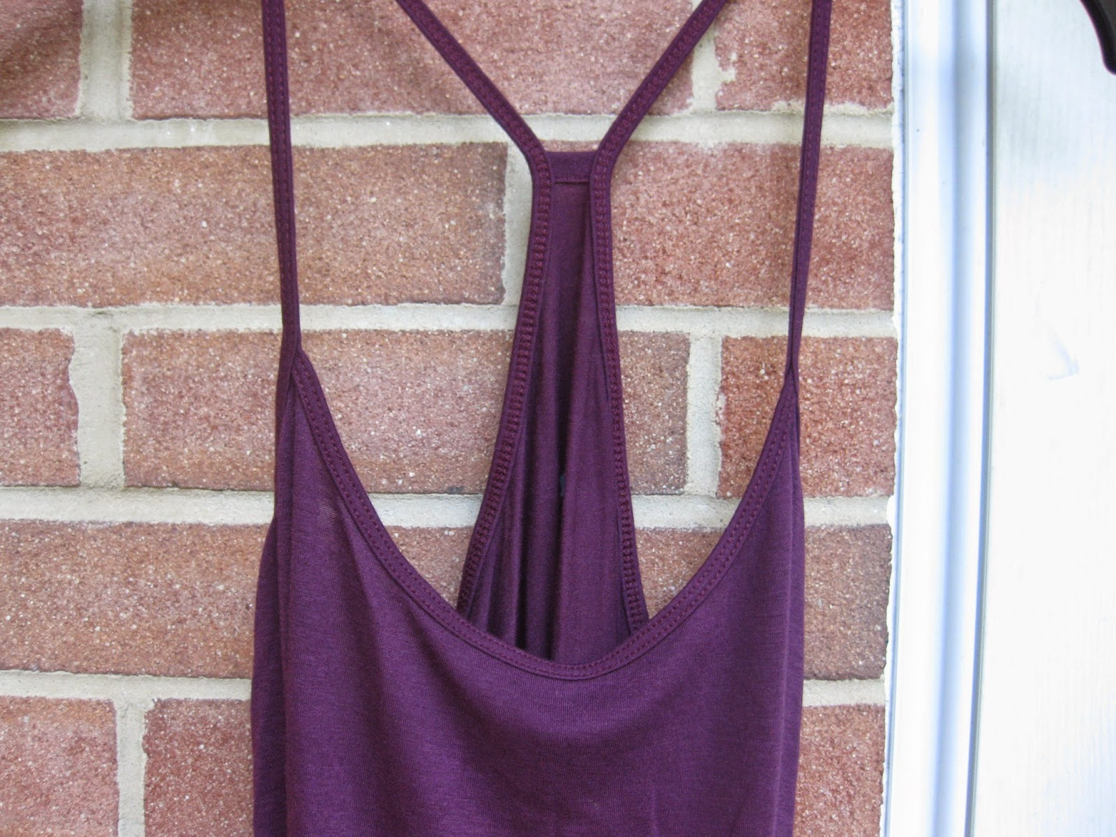 Potent Purple Mudd Racerback Tank Top in Size Large