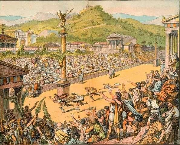 Η Απαρχή Των Αγώνων Δρόμου Στην Αρχαία Ελλάδα
