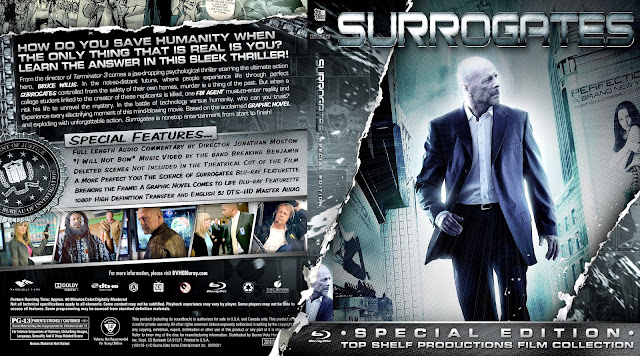 Capa Bluray Surrogates Special Edition