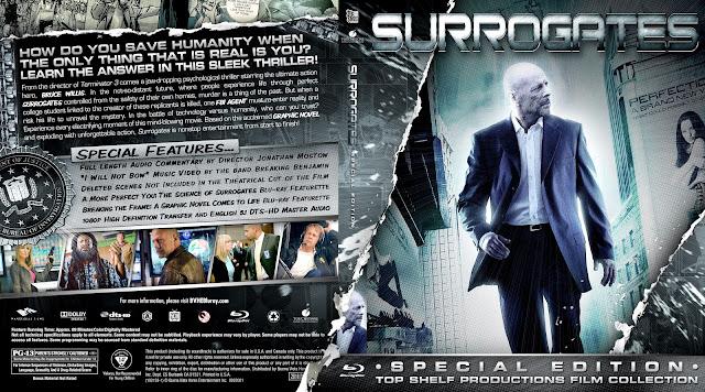 Capa Bluray Surrogates Special Edition