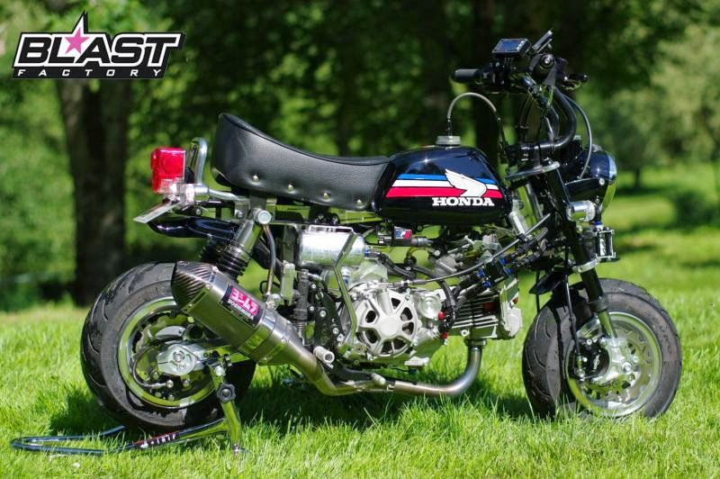Racing Caf U00e8  Honda Monkey Dohc By Blast Factory