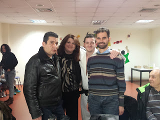 Με το Δημήτρη Σηφάκη, την Πρόεδρο του ΚΕΑΤ Μπέττυ Λεωτσάκου και τον προπονητή του Judo Γιάννη Μίχο