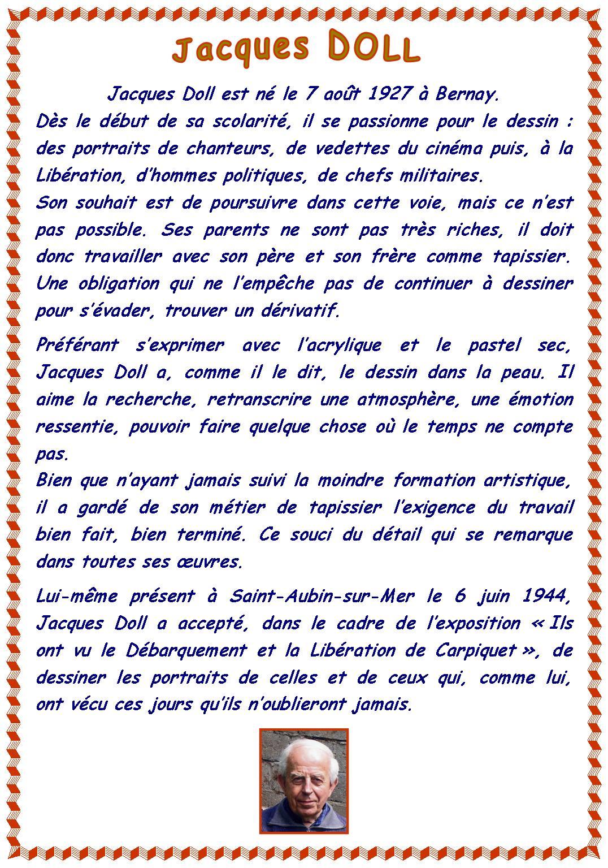 Biographie de Monsieur Jacques Doll