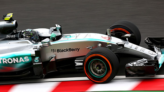 Pole para Nico Rosberg en Suzuka
