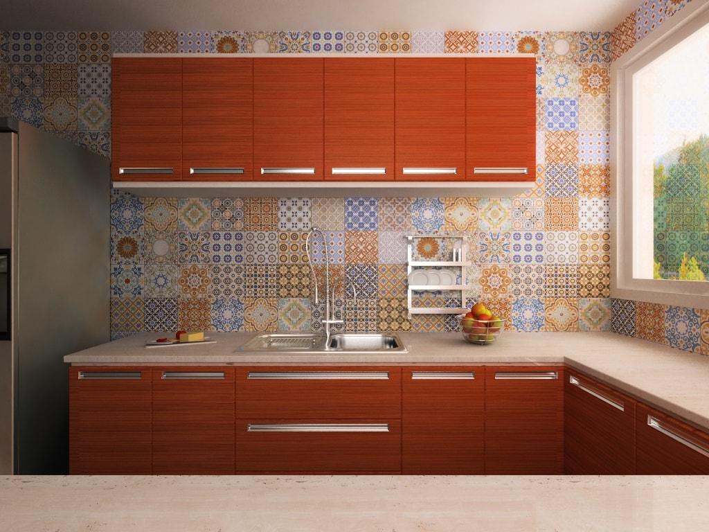 Ideas de revestimientos para las paredes de la cocina cocinas con estilo - Decoracion azulejos cocina ...