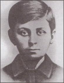 Jovan Dučić kao dečak