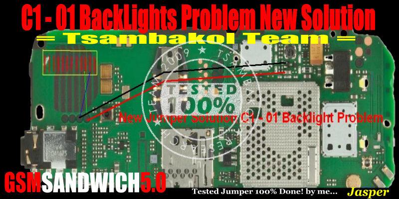 Nokia C1-01 Lcd Light Problem Solution Ways Jumper