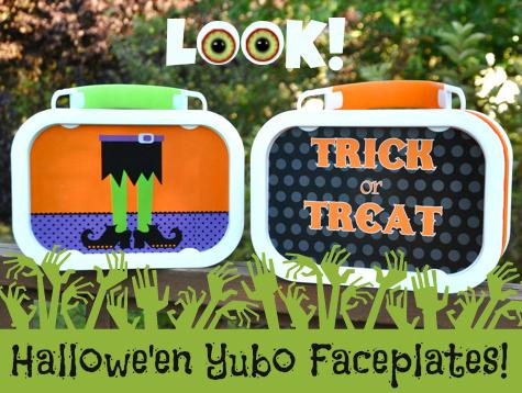 Halloween Yubo Faceplates