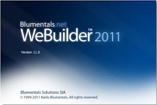 Blumentals Webuilder 2011 v11.4.0.133 Full Keygen