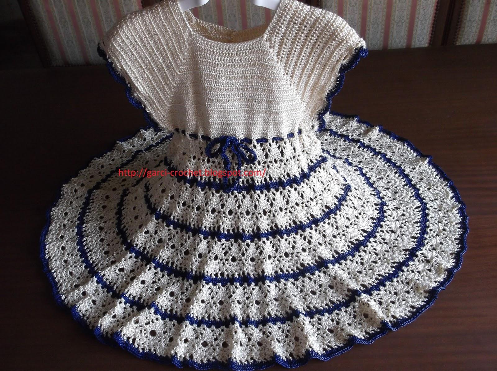Model Gratuit Robe Fillette Au Crochet 32