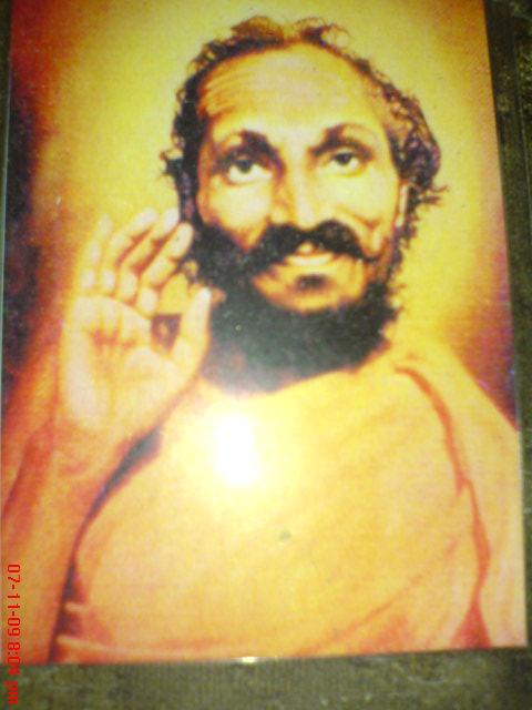 SRIDHARA SWAMY OF VARADAPURA NEAR SAGAR IN KARNATAKA, HE DID SEVA TO SAMADHI OF SAMARTHA RAMDAS ALONG WITH ABOVE RAM NAM.