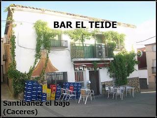 Bar el Teide, Santibáñez el Bajo, se abrió el 23 de agosto de 1967