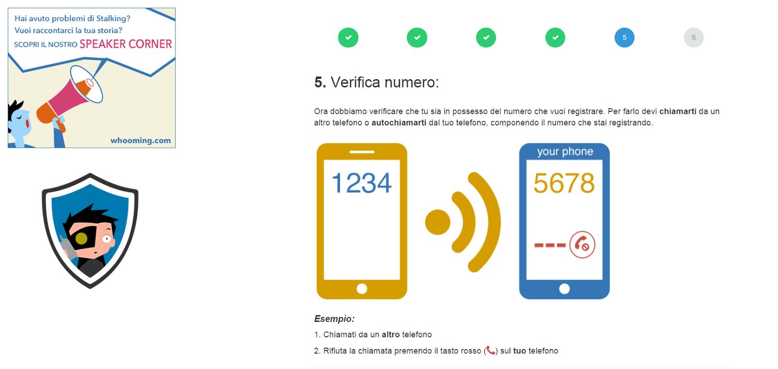 Come scoprire il numero di telefono Anonimo o Nascosto