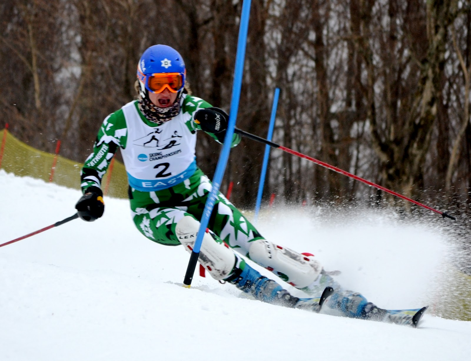 Alpine ski resorts plagued by lack of snow - Dartmouth S Annie Rendall Slaying Into Second