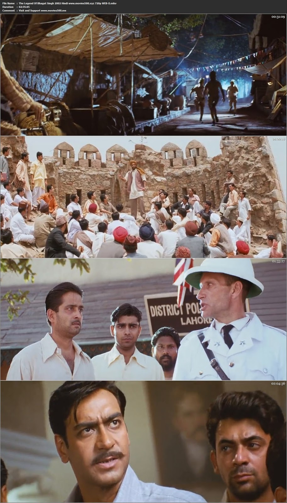 The Legend Of Bhagat Singh 2002 Hindi Full Movie WEB DL 720p at 9966132.com