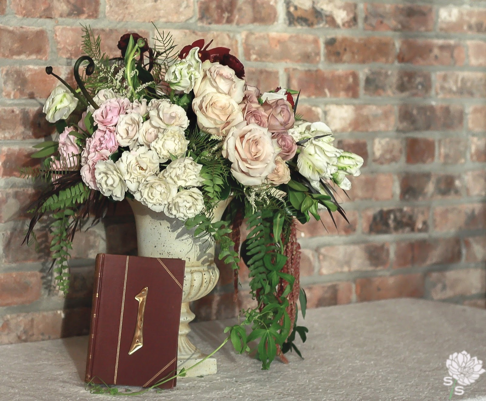 The Roundhouse Wedding - Beacon, NY - Hudson Valley Wedding - Exposed Brick - Wedding Flowers - Splendid Stems Floral Designs