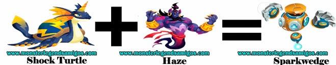 como obtener el monster sparkwedge en monster legends formula 2