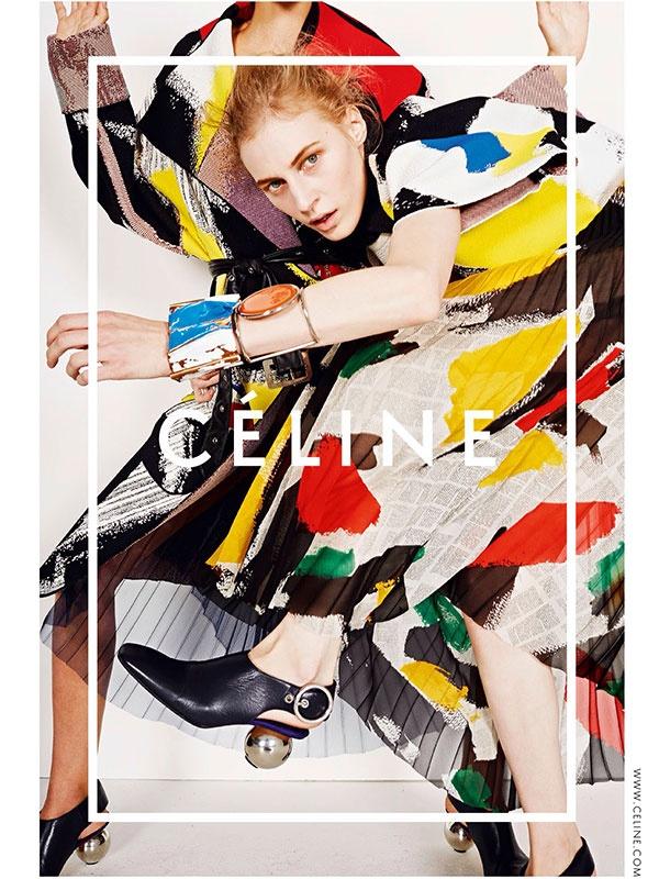 celine spring summer 2014 ad campaign