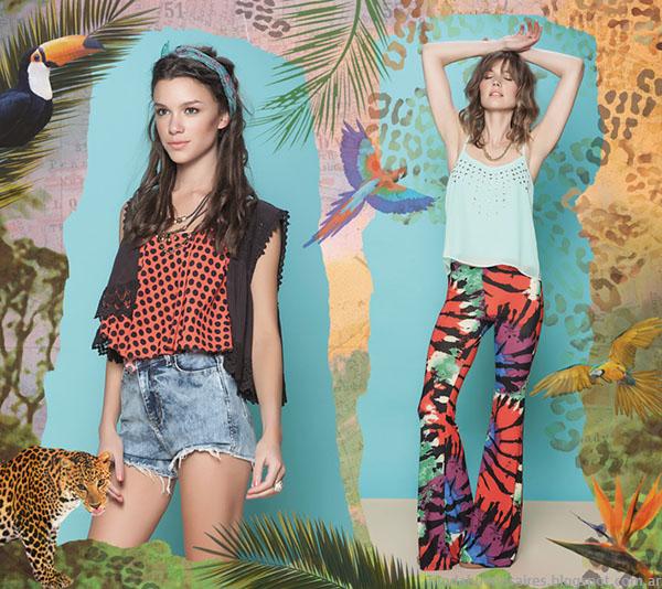 Moda verano 2015 Rimmel ropa de mujer de moda 2015.
