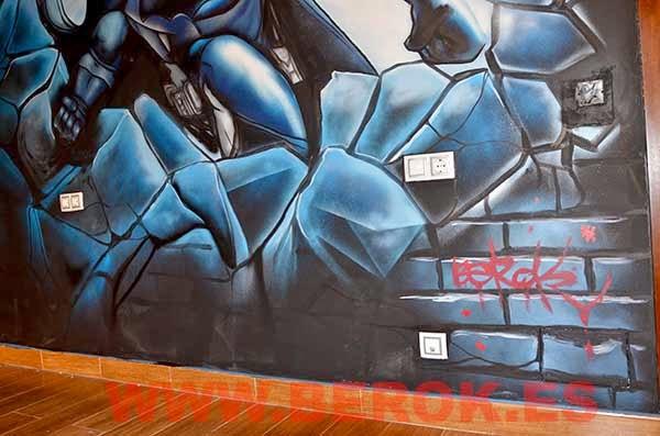 mural batman