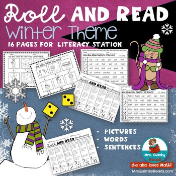 Roll and Read - Winter Theme
