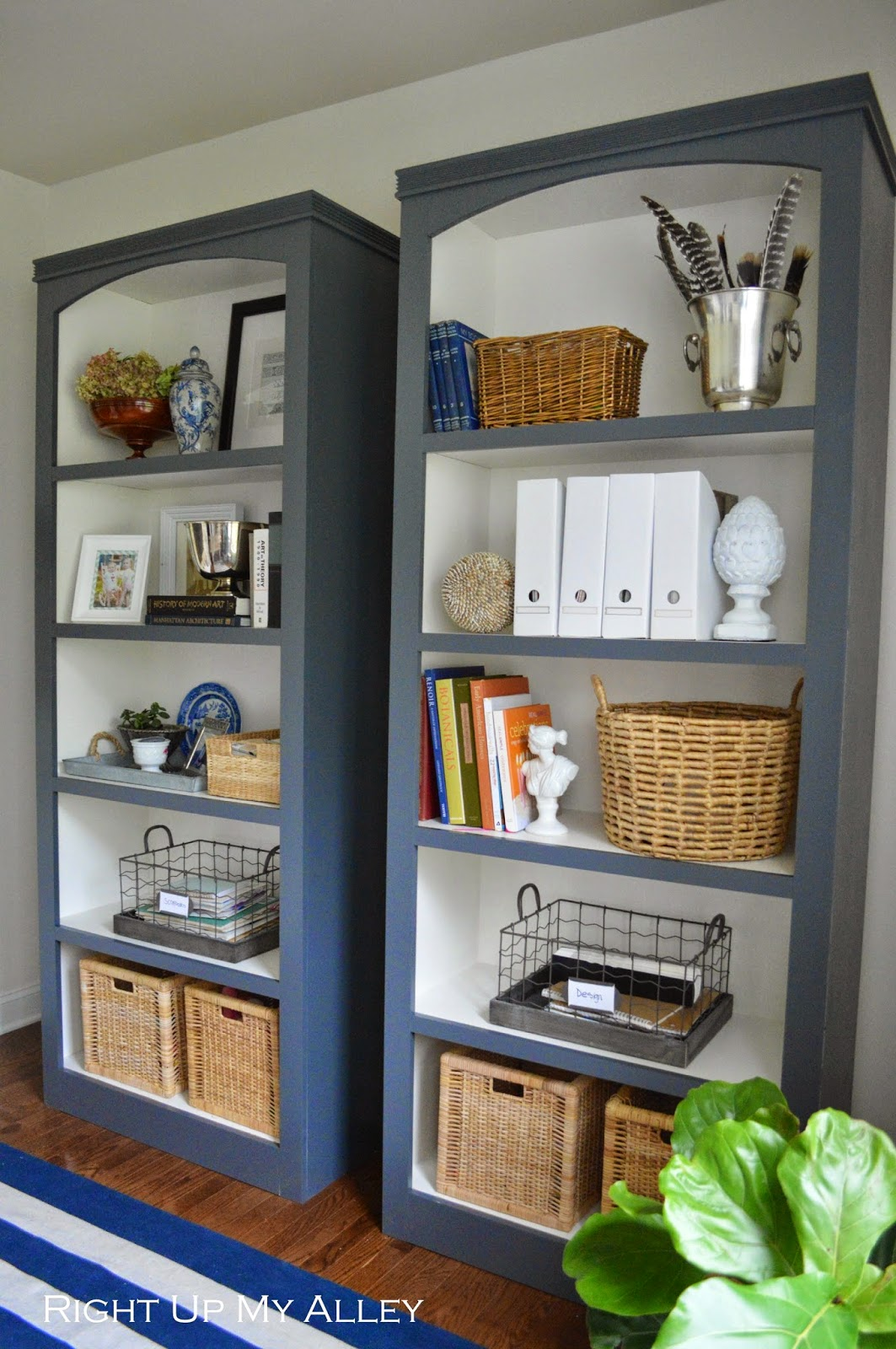 office book shelves. I\u0027m So Excited To Reveal Today Our Home Office Makeover And Bookshelves We Made From Plywood. I Shared A Sneak Peak Created Design Board For My Book Shelves L
