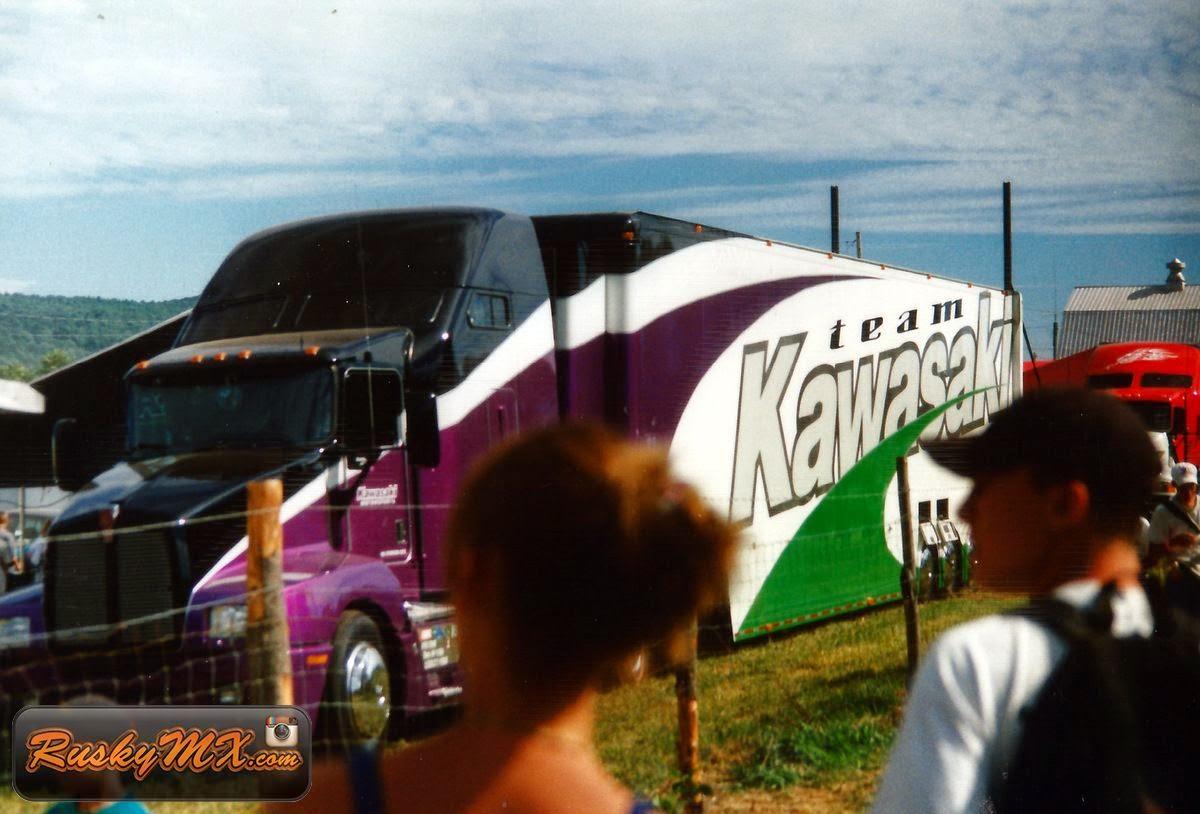 Factory Kawasaki Rig Unadilla 1997