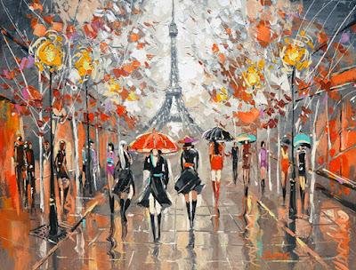 Calles de Paris Cuadros Modernos